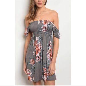 💕Grey Summer Dress